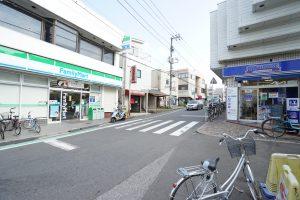 馬込沢駅前(東口)
